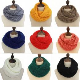 13 kolory ciepłe zimowe szalik szale z dzianiny kobiety moda szyi wełny kaszmirowe chustki Pashmina szalik