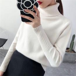 Gogoyouth sweter kobiet 2019 jesień zima kaszmirowe dzianiny damskie sweter i pulower kobieta Tricot Jersey Jumper Pull Femme