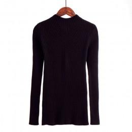 Nowych kobiet sweter z golfem swetry damskie moda swetry Jersey kobiety zima 2018 jesień sweter kobiet sweter Jumper Truien Dame