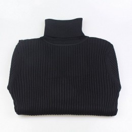 GIGOGOU gruby sweter z golfem ciepłe kobiety jesień zima z dzianiny Pull Femme wysoka elastyczność miękkie kobiece swetry sweter