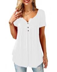TuangBiang 2018 kobiety lato serek z krótkim rękawem T shirt luźne Sexy camiseta feminina koszulki z krótkim rękawem kobiet Plus