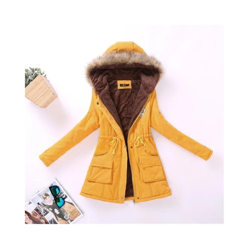 AliExpress Kurtka płaszcz damski kurtka bawełna krótki długim rękawem dla europy i rosji plus rozmiar 46 56 jesień i kurtka zimowa kobiety płaszcz