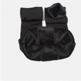 CHRLEISURE ciepłe damskie Plus aksamitne zimowe legginsy kostki długość utrzymać ciepłe stałe spodnie wysoka talia duży rozmiar