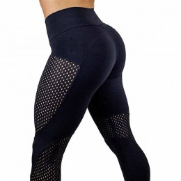 2018 nowy szybkie suszenia przędzy legginsy moda kostki Legging Fitness czarne legginsy