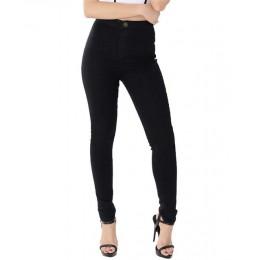 Eastdamo dopasowane dżinsy dla kobiet chude wysokiej talii dżinsy kobieta niebieski Denim ołówek spodnie Stretch talia kobiety d