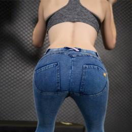 2018 kobiety Push Up dżinsy Skinny zamek błyskawiczny Plus rozmiar odzież nowa moda Sexy kobiet lato jesień zima dżinsy ołówek s