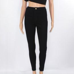 Gorąca sprzedaży wysokiej talii dżinsy damskie dżinsy rurki Femme Stretch damskie dżinsy Slim Lift Hip spodnie jeansowe spodnie