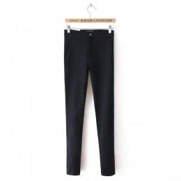Gorąca sprzedaż Push Up dżinsy kobieta ołówek spodnie w stylu Vintage wysoka talia Jeans kobiety na co dzień Stretch Skinny Jean