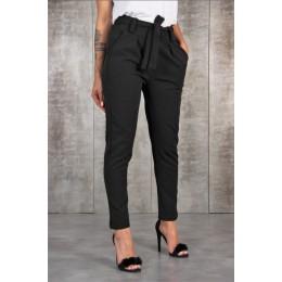 BornToGirl na co dzień szczupła szyfonowa cienkie spodnie dla kobiet wysokiej talii czarny Khaki zielone spodnie
