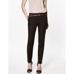 Spodnie ołówkowe w stylu casual kobiety jesień wiosna lato pantalon femme mankietem damski garnitur oficjalny spodnie damskie sp