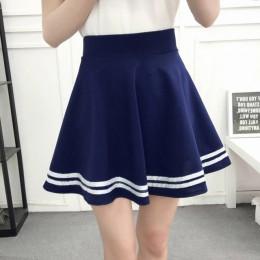 ALSOTO zimą, jak i latem styl marka kobiety spódnica elastyczna faldas panie midi spódnice Sexy dziewczyna mini krótki spódnice