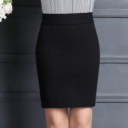 2019 nowych kobiet spódnica praca moda Stretch Slim wysoka talia spódnica ołówkowa Bodycon Sexy Mini urząd pracy spódnica darmow