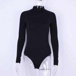 Wixra 2019 nowy odzież damska bawełna wszystkich podstawowych mecz z długim rękawem z golfem body stałe kombinezony dla kobiet