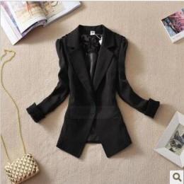 Fanmuer 2019 kobiet garnitur kobiety blazer elegancki trzy czwarte rękaw blazers kobieta odzież wierzchnia kobiety odzież kobiet