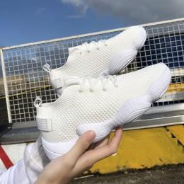 Kobiety Mesh wiosna trampki damskie zasznurować elastycznej tkaniny platformy płaskie wulkanizowane buty w stylu casual kobiet o