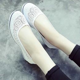 Cuculus 2019 nowe płótno buty pielęgniarskie stałe kobiety platformy buty w stylu casual kobiet płaskie dno feminino damskie but