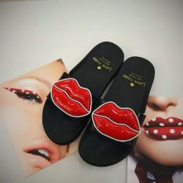 HTUUA marka kapcie kobiety letnie buty Open Toe antypoślizgowe pantofle domowe plaży klapki japonki płaskie slajdy sandały SX120