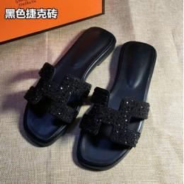 Nowy kryształ kapcie wyciąć letnie sandały plażowe moda kobiety slajdy kapcie na zewnątrz kryty wsuwane buty klapki japonki plus