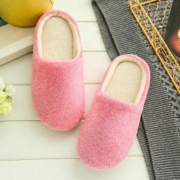 Kapcie kobiety 2019 dom kryty pluszowe miękkie słodkie kapcie z bawełny buty antypoślizgowe podłogi domu kapcie kobiety slajdy d
