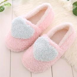 Piękne panie piętro domu miękkie kobiety kapcie podeszwa bawełny wyściełane buty kobieta zimowe kobiety klapki zapatos mujer