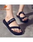 Kobiety klapki na lato kobiety klapki japonki buty Unisex sandały pantofel kryty i odkryty moda plaża mężczyźni klapki rozmiar 3