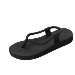 Nowe letnie kobiety stałe sandały pantofel pani szczypta Slipsole płaskie buty klapki japonki sandały pantofel dla kobiet 2018 b