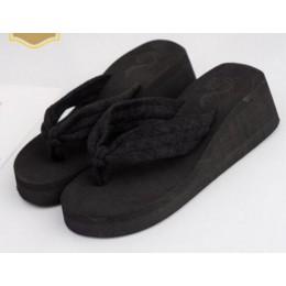 AShwin gorące kobiety kapcie letnie kliny żelowe sandały klapki japonki platformy stringi pantofel buty plażowe domu kryty panto