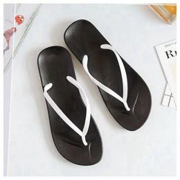 Bailehou kobiety klapki japonki klapki plażowe sandały proste Slip On panie slajdy kobiety płaskie buty sandały na platformie ko