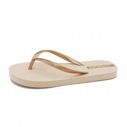Plardin okrągłe toe płaskie slajdy sandały kobiety biały czarny skórzane pantofle klapki pantofle 2019 lato kobiety kapcie pośli