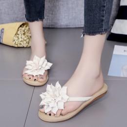 XEK kwiat marka jakości rozrywka kobiety letnie kapcie obuwie plażowe klapki japonki obuwie damskie rozmiar 36-40 WFQ63