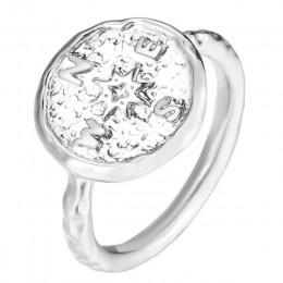 Boho złoty kolor młotkiem podróży Wanderlust kompas pierścień w stylu Vintage Best Friends pierścionki dla kobiet prezent z okaz