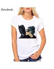 Letnia bluzka damska kobieca koszulka Anime Batman Marvel Catwoman t-shirt hipster