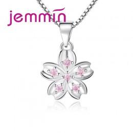 YAAMELI specjalne urok projekt moda Temperament koreański 925 srebrny naszyjnik kwiatowy z łańcucha Box dla kobiet najlepszy pre