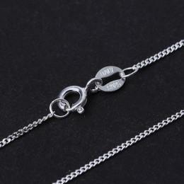 Lotus zabawy majątek 925 Sterling Silver ręcznie robiona biżuteria klasyczny łatwy do mecz naszyjnik łańcuch bez wisiorek dla ko