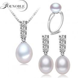YouNoble modny naturalny naszyjnik z pereł zestaw kobiet freshwatewr naszyjnik z pereł biżuteria kolczyk afryki zestawy biżuteri