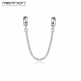 Korek łańcuch bezpieczeństwa koraliki charm w stylu fit Charms srebro 925 oryginalna bransoletka Sterling koraliki do tworzenia