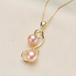 Barokowy tylko podwójne perły moda wisiorek/urok ustawienia wisiorek ustalenia kobieta Lady dla dziewczynek biżuteria wisiorek m