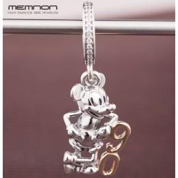Memnon edycja limitowana 90th rocznica wiszące Charms 925 sterling silver Fit koraliki na bransoletkę wisiorki dla kobiet biżute