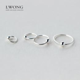 Srebrny kolczyk do ucha chrząstki 925 srebro kółko piercing 6mm, 8mm, 10mm, 12mm