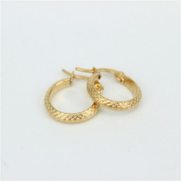 MGUB 2016 nowa biżuteria ze stali nierdzewnej kolczyki złoty kolor, żeński, moda biżuteria proste kolczyki małe kolczyk LH133