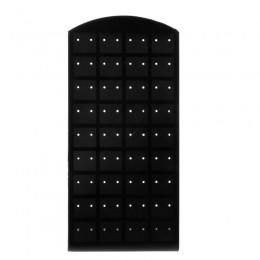 72 otwory plastikowe kolczyki Ear Stud biżuteria wyświetlacz stojak organizer