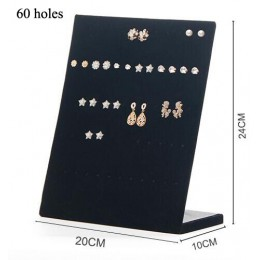 Nowy L konstrukcja typu trąbka wyświetlacz półka Board Pin kolczyk biżuteria stojak uchwyt na kolczyk biżuteria Box sklep hurtow