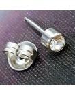 2 sztuk dezynfekcji opakowanie bezpieczeństwa pistolet do przekłuwania uszu ucho pułapki przebite narzędzia do przekłuwania urzą