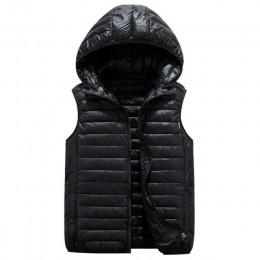 MLinina zima kobiety kamizelka 2019 moda odzież wierzchnia plus size wymienny kamizelka z kapturem ciepła kurtka na co dzień kam