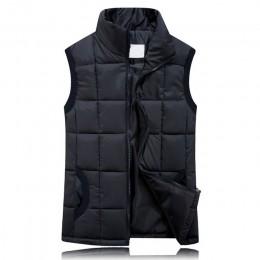 BOoDinerinle Plus rozmiar kobiety cienkie dół bawełny kamizelka jednolity kolor proste ciepłe moda w stylu klasycznym 10 kolorów