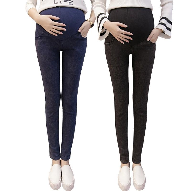 c38a632e Envsoll M-3XL jeansy ciążowe dla kobiet w ciąży w ciąży spodnie ...