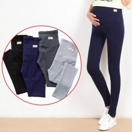 Yuanjiaxin lato brzuch chuda macierzyństwo Legging w elastycznej bawełny regulowany talia ołówek spodnie ciążowe odzież dla cięż