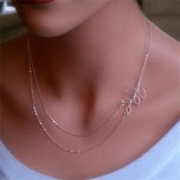 Hot moda złoty kolor wielowarstwowe monety frędzle lasso Bar naszyjniki koraliki Choker Feather wisiorki naszyjniki dla kobiet B