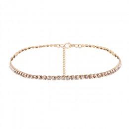 H: HYDE moda biżuteria akcesoria luksusowe Rhinestone Choker naszyjnik dla kobiet Temperament kołnierz mujer naszyjnik prezent u