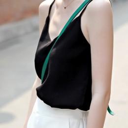TingYiLi bluzka damska Top V szyi Sexy Plus rozmiar szyfonowa bluzka szary niebieski różowy czerwony czarny biały panie topy lat
